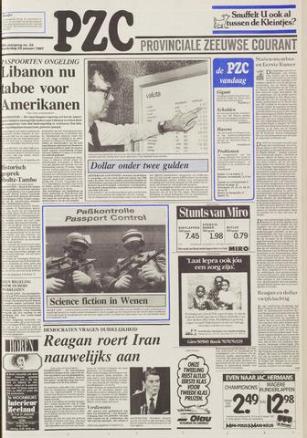Provinciale Zeeuwse Courant 1987-01-29