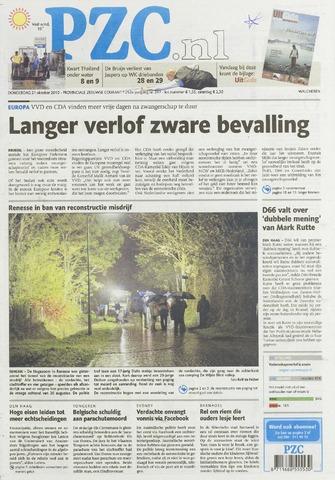 Provinciale Zeeuwse Courant 2010-10-21