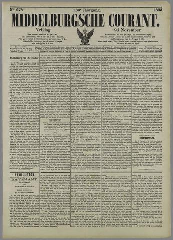 Middelburgsche Courant 1893-11-24