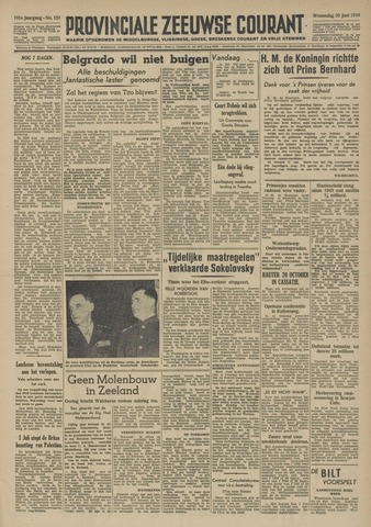 Provinciale Zeeuwse Courant 1948-06-30