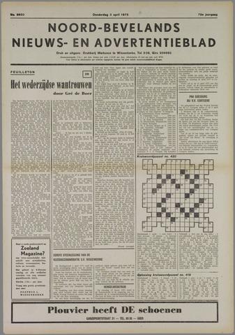 Noord-Bevelands Nieuws- en advertentieblad 1975-04-03