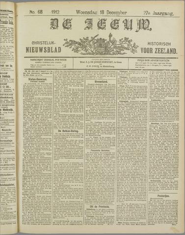 De Zeeuw. Christelijk-historisch nieuwsblad voor Zeeland 1912-12-18