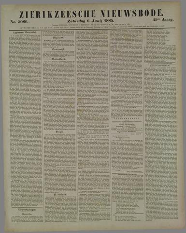 Zierikzeesche Nieuwsbode 1885-06-06