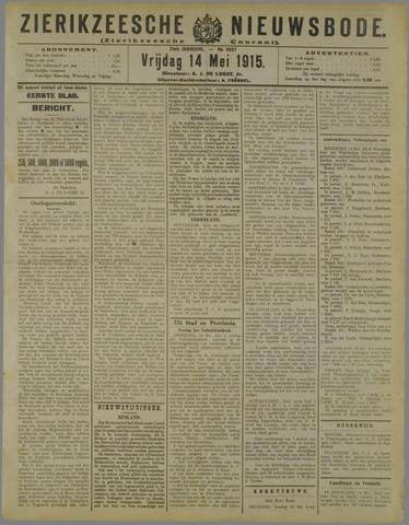 Zierikzeesche Nieuwsbode 1915-05-14