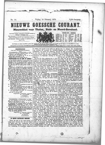 Nieuwe Goessche Courant 1870-02-18