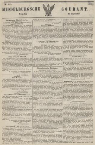 Middelburgsche Courant 1851-09-30