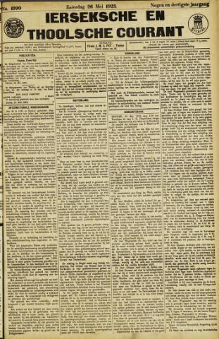 Ierseksche en Thoolsche Courant 1923-05-26