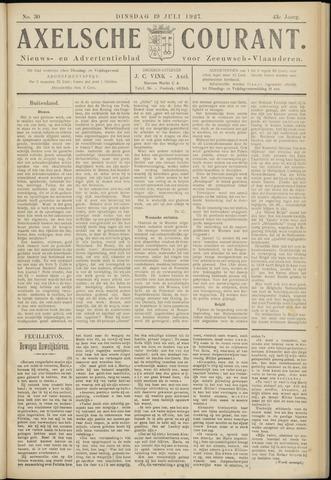 Axelsche Courant 1927-07-19
