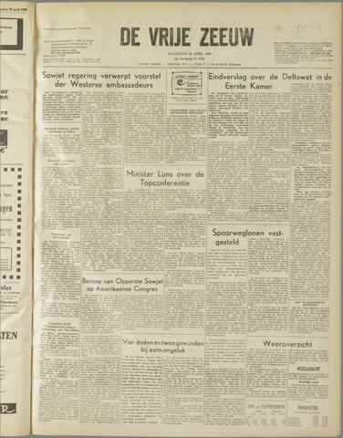 de Vrije Zeeuw 1958-04-28