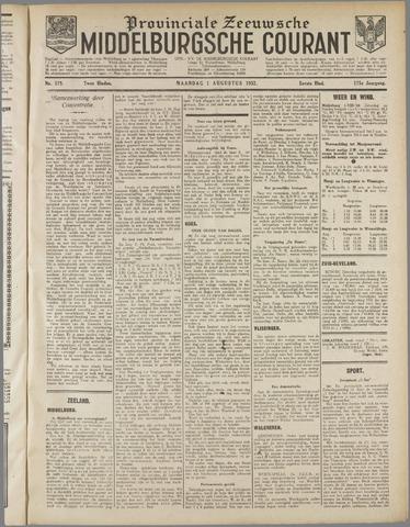 Middelburgsche Courant 1932-08-01