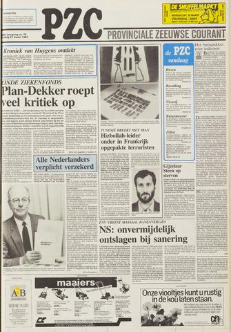 Provinciale Zeeuwse Courant 1987-03-27