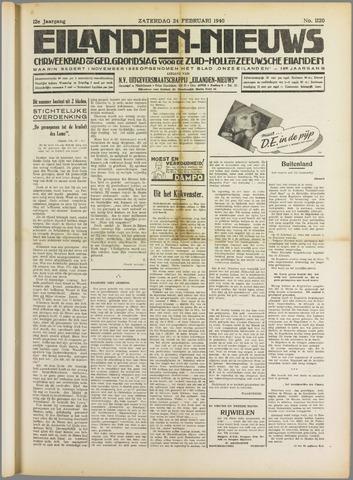 Eilanden-nieuws. Christelijk streekblad op gereformeerde grondslag 1940-02-24