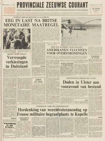 Provinciale Zeeuwse Courant 1972-06-26