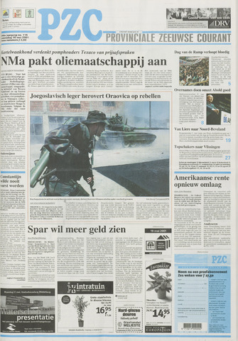 Provinciale Zeeuwse Courant 2001-05-16