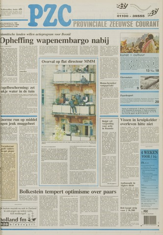 Provinciale Zeeuwse Courant 1994-08-05