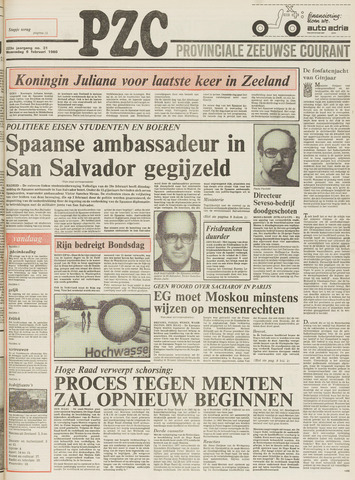 Provinciale Zeeuwse Courant 1980-02-06