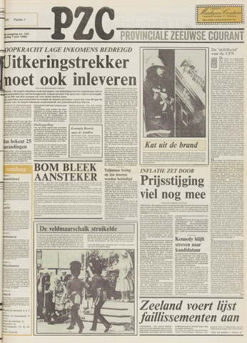 Provinciale Zeeuwse Courant 1980-06-07