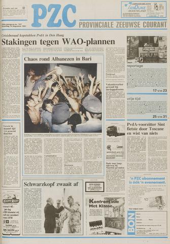 Provinciale Zeeuwse Courant 1991-08-10