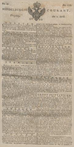 Middelburgsche Courant 1776-04-02