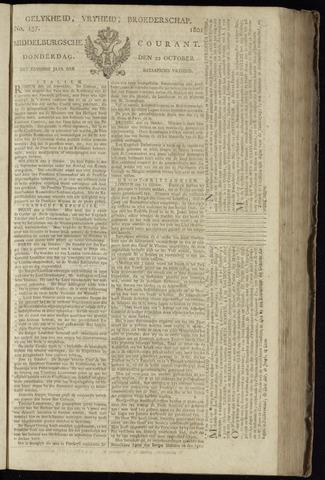 Middelburgsche Courant 1801-10-22