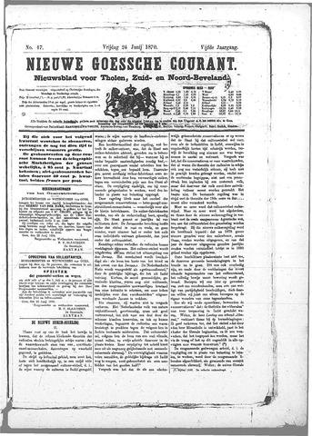Nieuwe Goessche Courant 1870-06-24