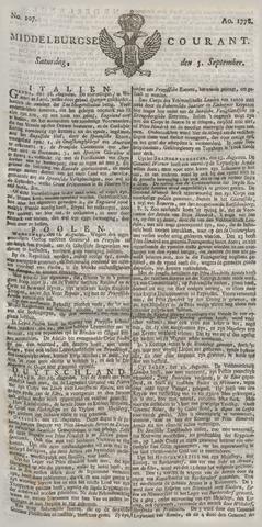 Middelburgsche Courant 1778-09-05
