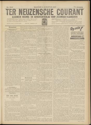 Ter Neuzensche Courant. Algemeen Nieuws- en Advertentieblad voor Zeeuwsch-Vlaanderen / Neuzensche Courant ... (idem) / (Algemeen) nieuws en advertentieblad voor Zeeuwsch-Vlaanderen 1937-08-09
