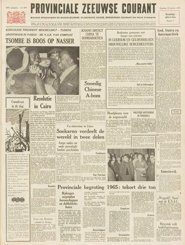Provinciale Zeeuwse Courant 1964-10-10