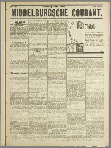 Middelburgsche Courant 1927-07-05
