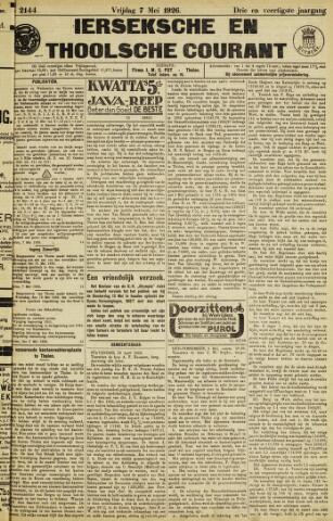 Ierseksche en Thoolsche Courant 1926-05-07