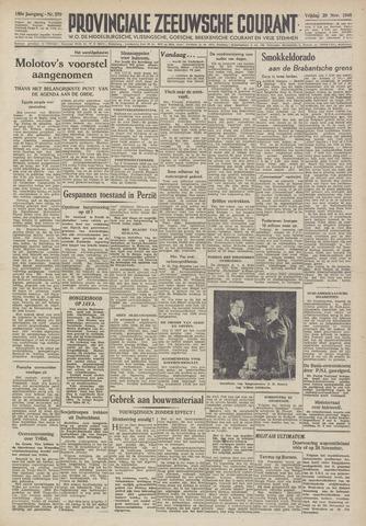 Provinciale Zeeuwse Courant 1946-11-29