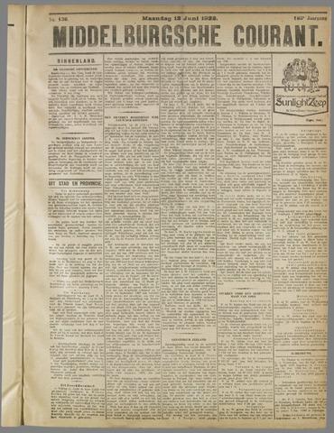 Middelburgsche Courant 1922-06-12