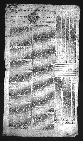 Middelburgsche Courant 1799-09-21