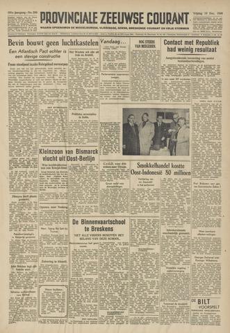 Provinciale Zeeuwse Courant 1948-12-10