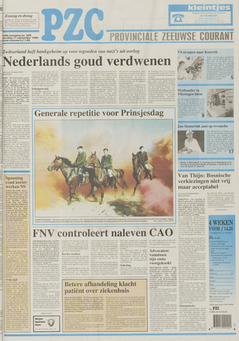 Provinciale Zeeuwse Courant 1996-09-17
