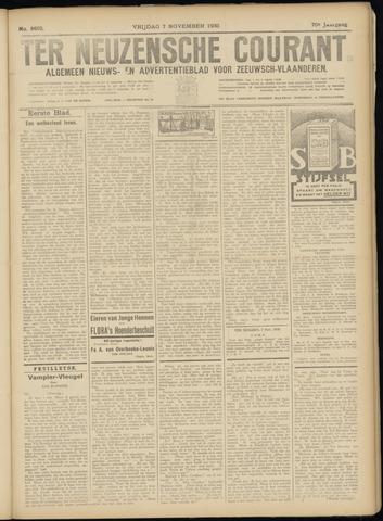 Ter Neuzensche Courant. Algemeen Nieuws- en Advertentieblad voor Zeeuwsch-Vlaanderen / Neuzensche Courant ... (idem) / (Algemeen) nieuws en advertentieblad voor Zeeuwsch-Vlaanderen 1930-11-07