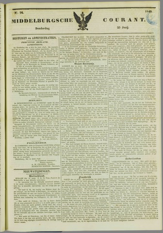Middelburgsche Courant 1846-06-25