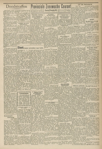 Provinciale Zeeuwse Courant 1945-09-26