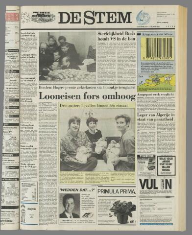 de Stem 1992-01-09