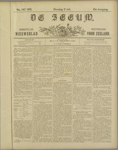 De Zeeuw. Christelijk-historisch nieuwsblad voor Zeeland 1901-07-09