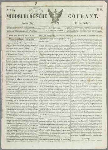 Middelburgsche Courant 1859-12-29