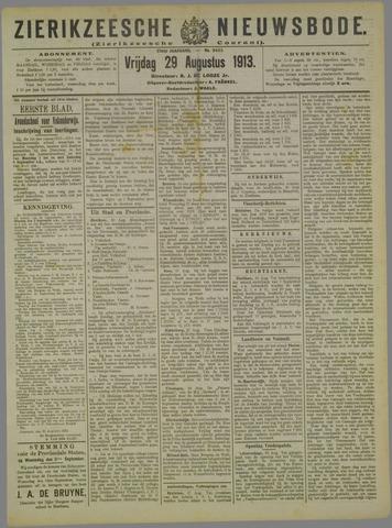 Zierikzeesche Nieuwsbode 1913-08-29