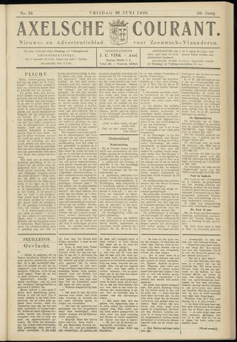 Axelsche Courant 1928-06-22