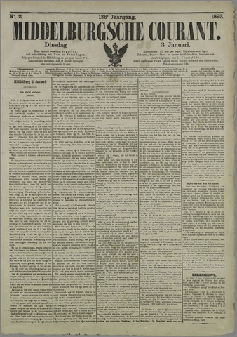 Middelburgsche Courant 1893-01-03