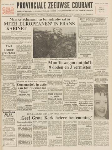 Provinciale Zeeuwse Courant 1969-06-23