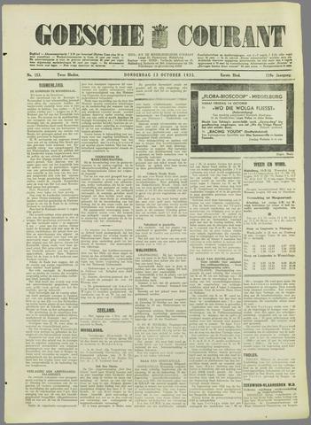 Goessche Courant 1932-10-13