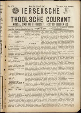 Ierseksche en Thoolsche Courant 1917-07-14
