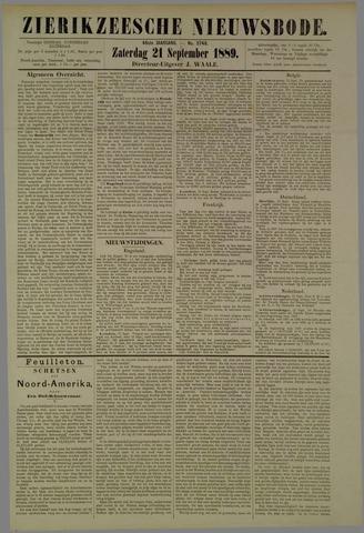 Zierikzeesche Nieuwsbode 1889-09-21