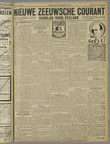 Nieuwe Zeeuwsche Courant 1920-12-27