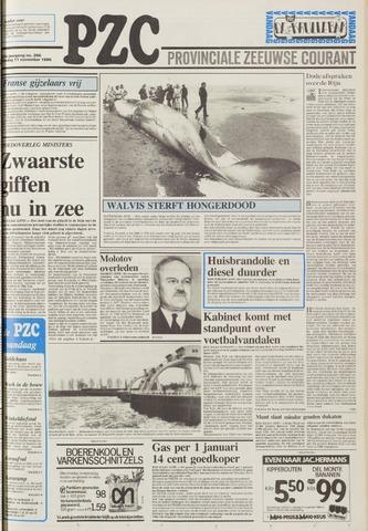 Provinciale Zeeuwse Courant 1986-11-11